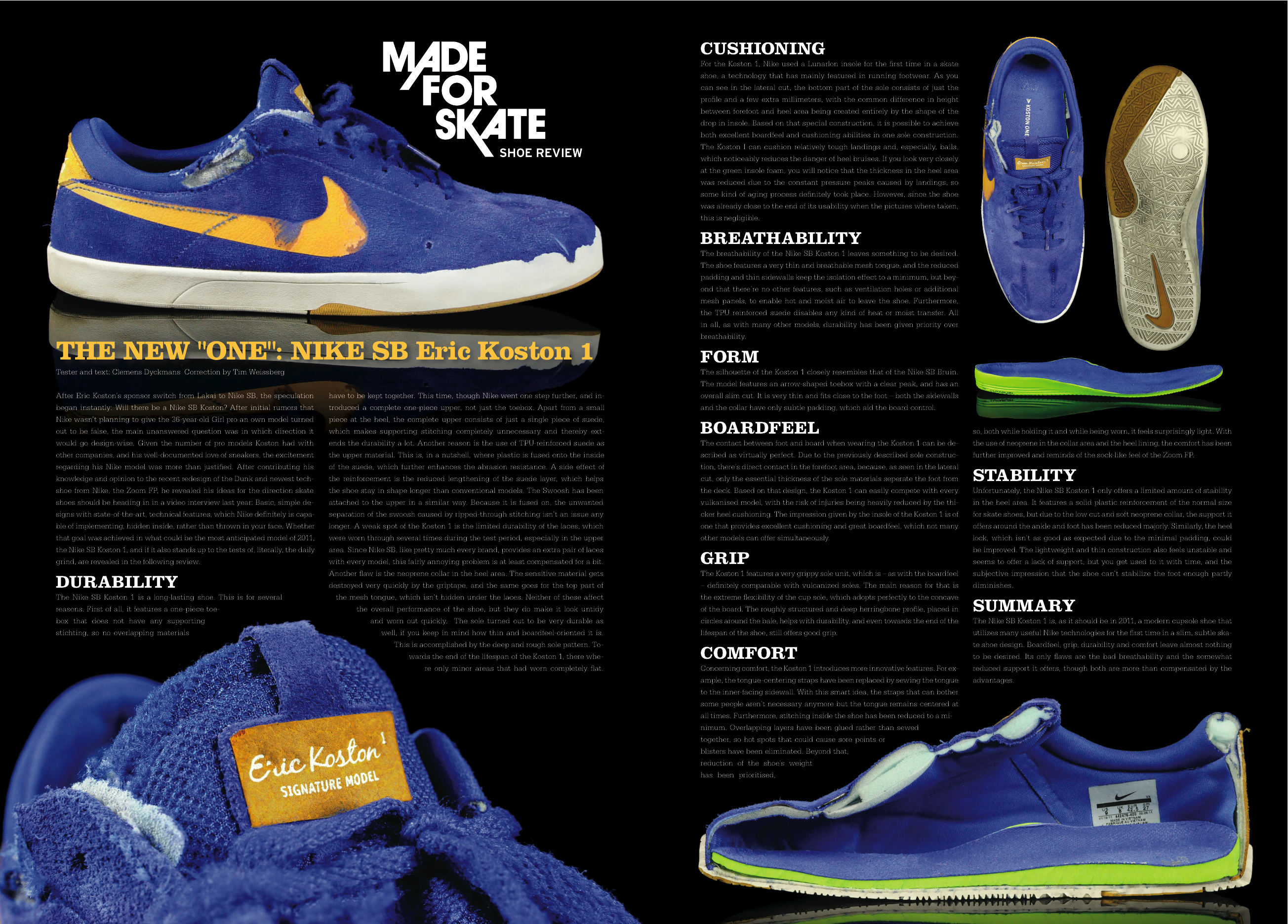 Nike SB Koston 1 review - Weartested