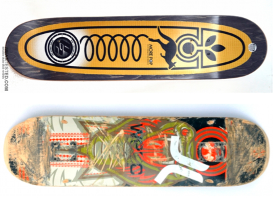 Habitat Skateboards P2 deck review