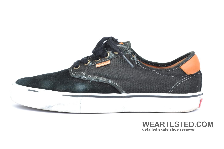 6ba65421ed Vans Chima Pro - Weartested - detailed skate shoe reviews