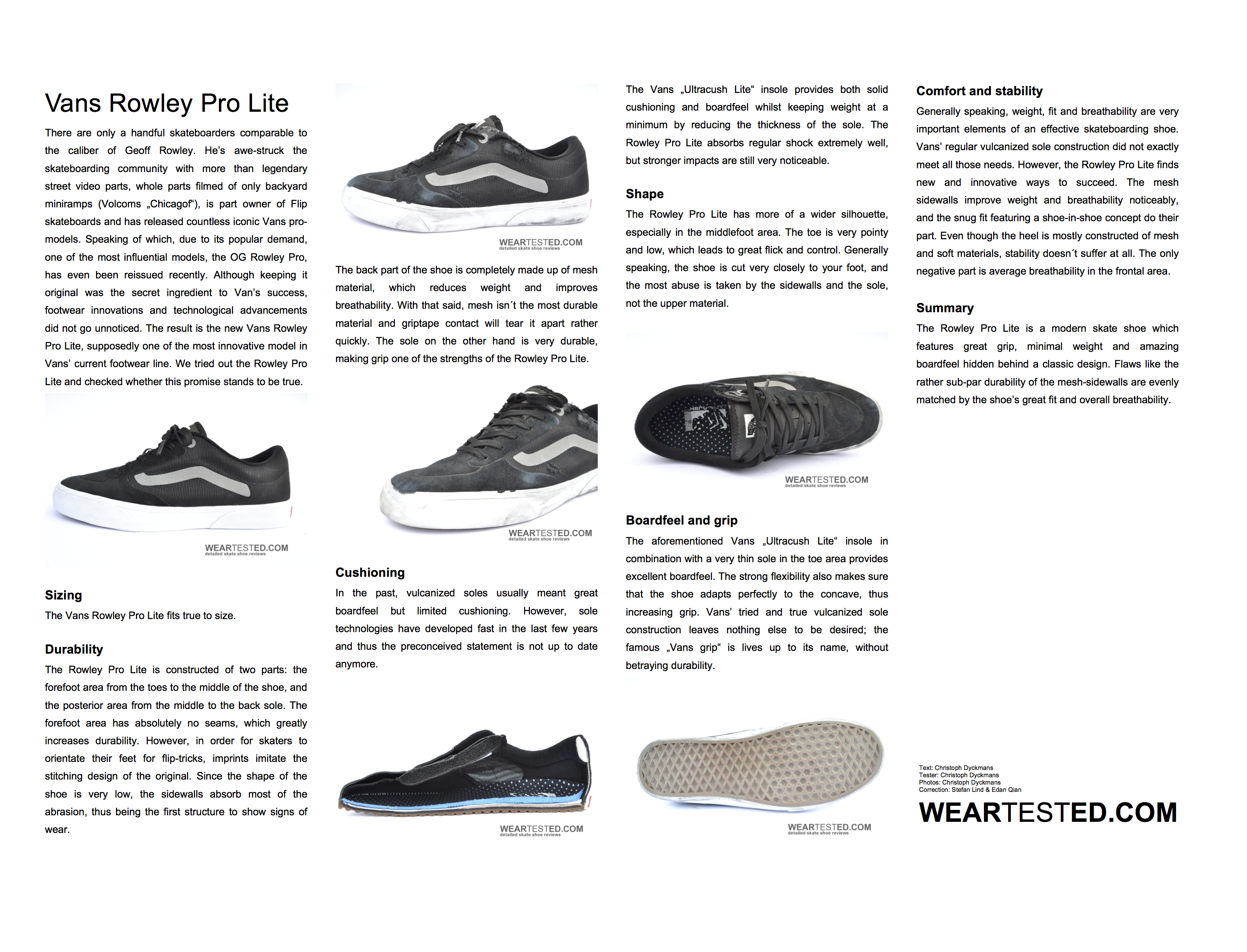 Vans Rowley Pro Lite - Weartested - detailed skate shoe reviews 9bf1d5089