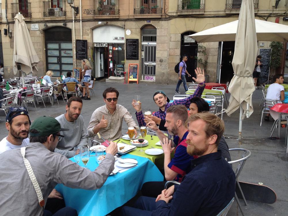 Team Lebron in Barcelona Pt.1: Photo Recap