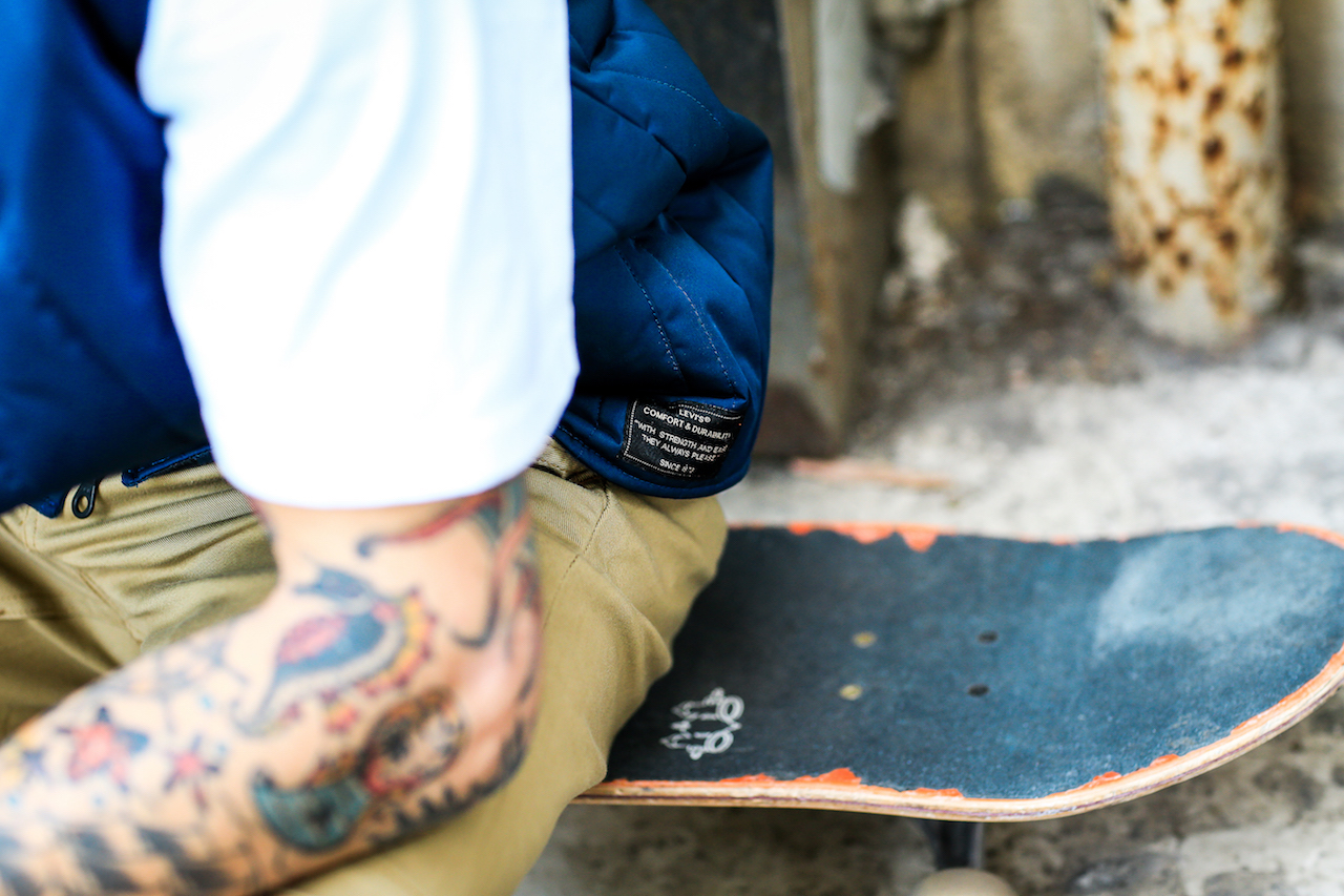 Levis Skateboarding Collection Checkout SS17