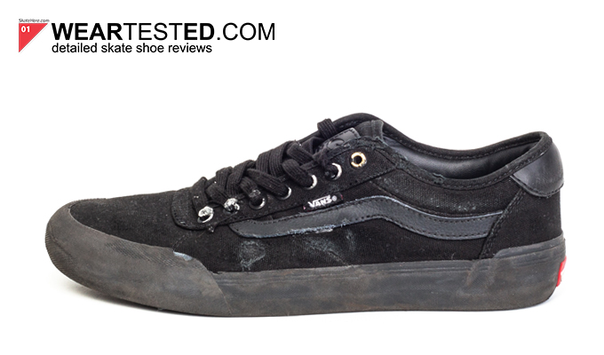 Just in: The Vans Berle Pro in classic Black true White