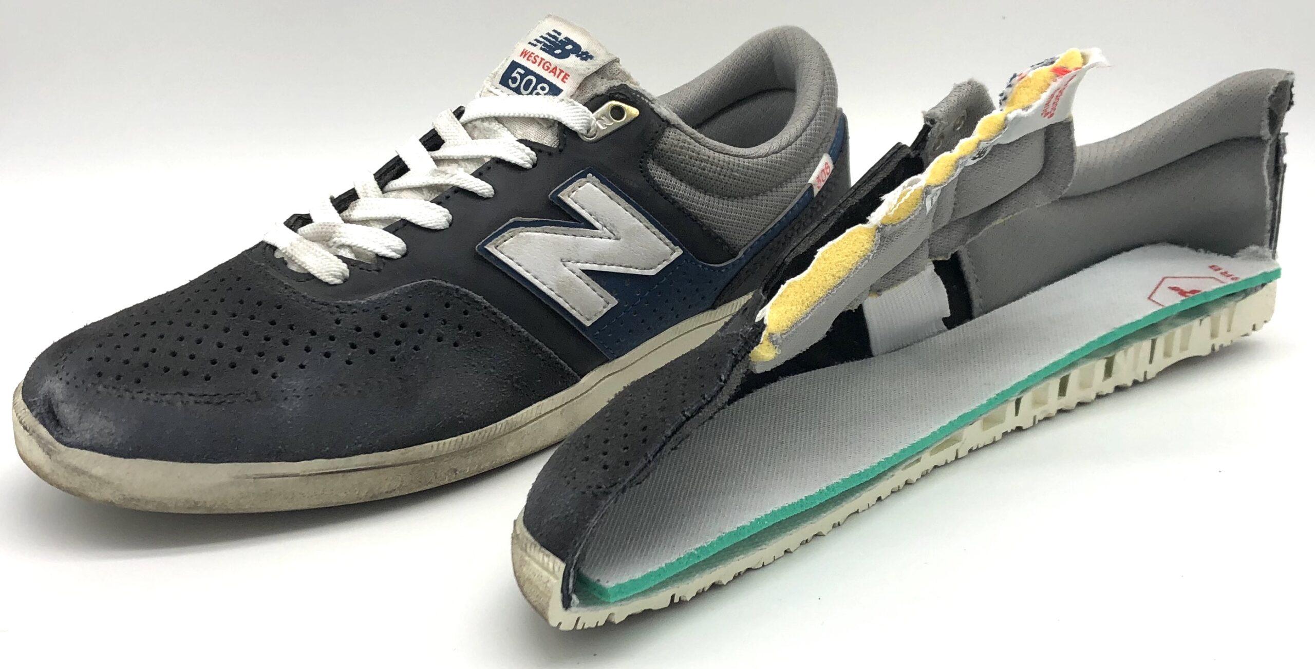 NB# Westgate 508 - Weartested - detailed skate shoe reviews